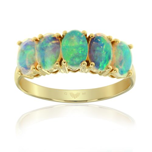 Coober Pedy Opal Rings in Adelaide