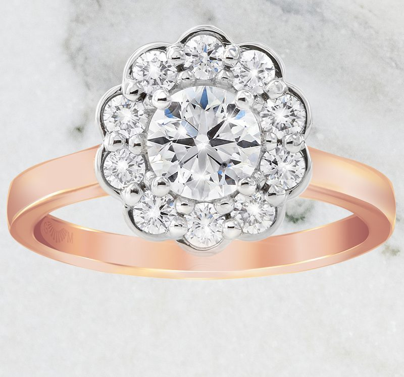Posy Engagement Ring
