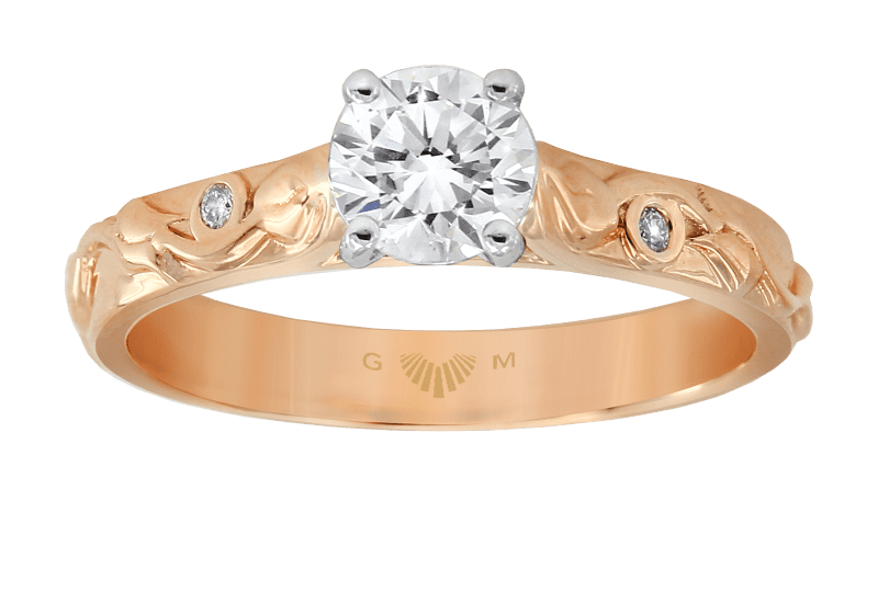Trinity Rose Engagement Ring Collection