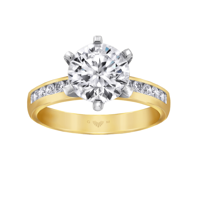 Elegance Engagement Ring Collection