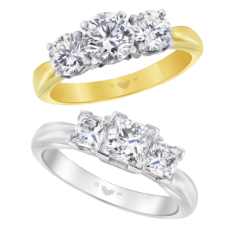 Tria Engagement Ring Collection