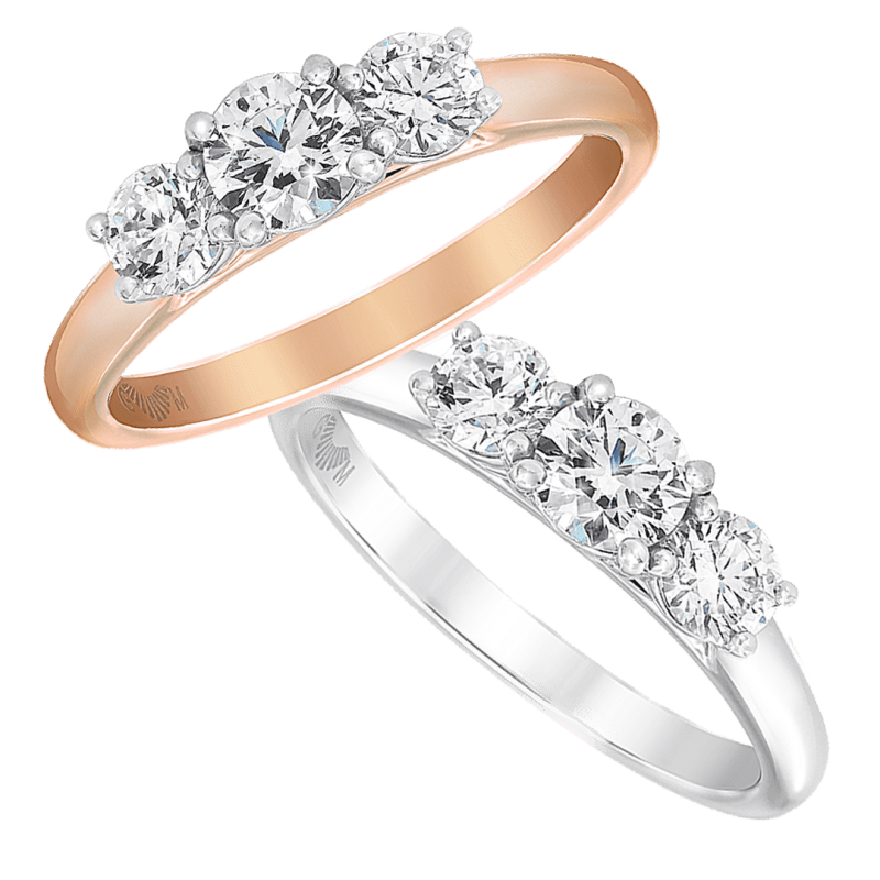 Trinity Engagement Ring Collection