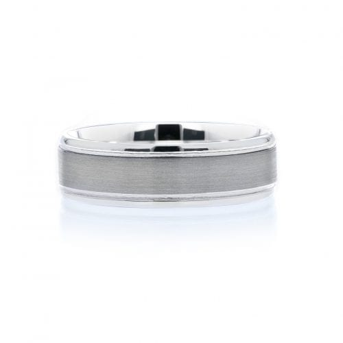 Silver and Tantalum Men's Ring